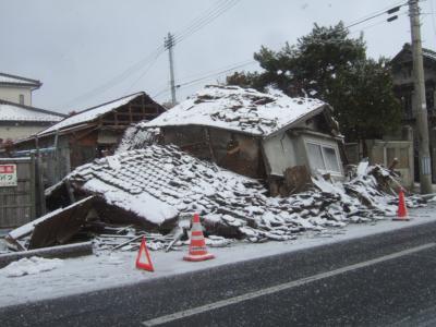 高城町の住宅被害