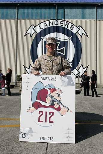 Marine Fighter Attack Squadron 212 - Cadre Ceremony