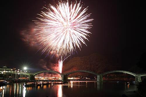 第40回錦川水の祭典花火大会