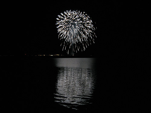 The Fourth of July-Fireworks