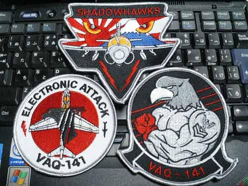 "VAQ-141""SHADOWHAWKS""Patch"