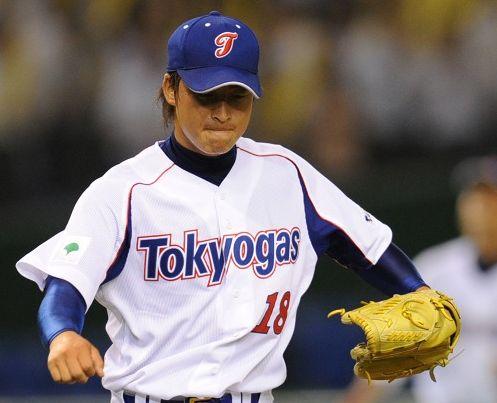東京ガス硬式野球部:ロッカールーム:投手 プロ …