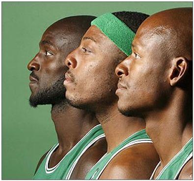 NBA B.CELTICS BIG 3