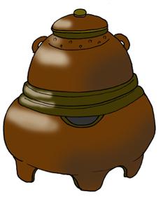茶釜 茶釜 ⇔ たぬき そう思うと、ちょっと緊張感漂うお茶席でも、フツフツと... ぶんぶく茶釜