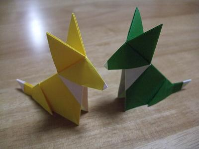 クリスマス 折り紙 : 折り紙 犬 折り方 : plaza.rakuten.co.jp