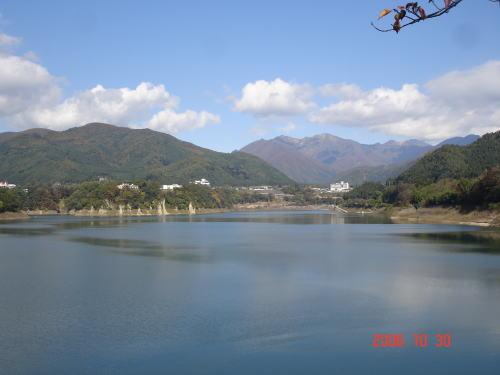 赤谷湖畔・2006年10月30日