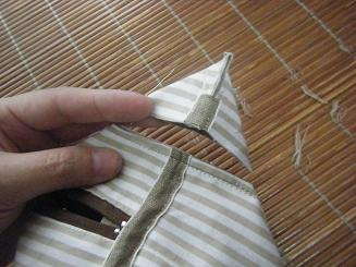 ボックスポーチの作り方 15