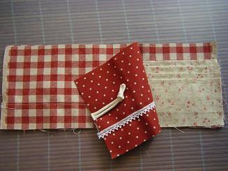 三つ折カードケースの作り方(6)