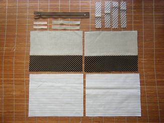 ボックスポーチの作り方 材料
