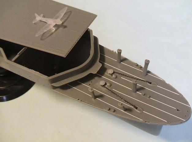 フジミの「翔鶴1941」です。 取説とキットを眺めていました。 ニッパー...  完成しない模型