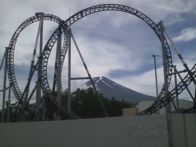 高飛車と富士山
