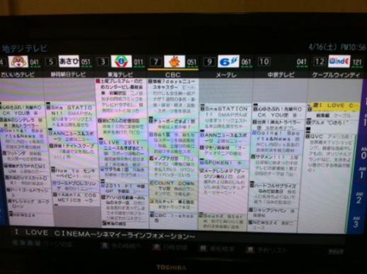 愛知 県 番組 表