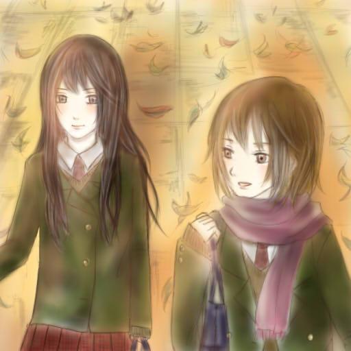 虹子と紅葉.jpg
