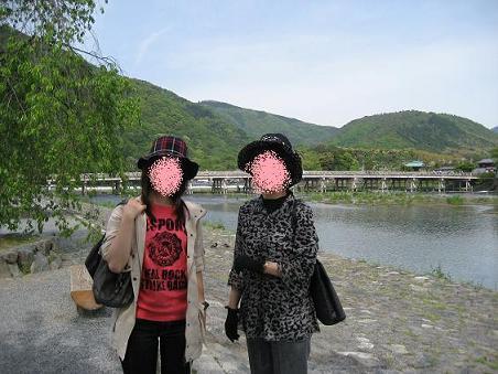 1嵐山渡月橋
