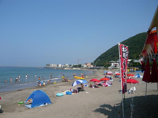 神奈川県 葉山 海水浴場