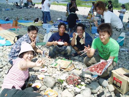 江南BBQパーティー2