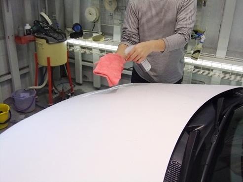 洗車 レクサスCT 大坂 ビッグウエスト