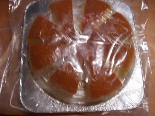 ケーキの冷凍