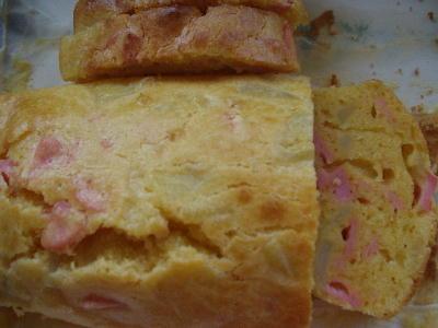 ポテトとソーセージのケーキ