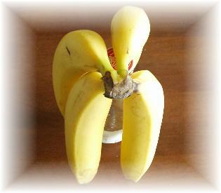 バナナ置き
