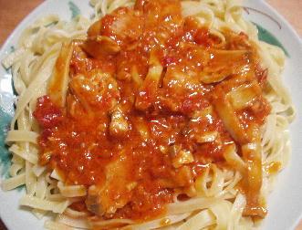 トマトクリームスパゲティー
