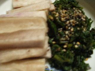 日野菜の糠漬け