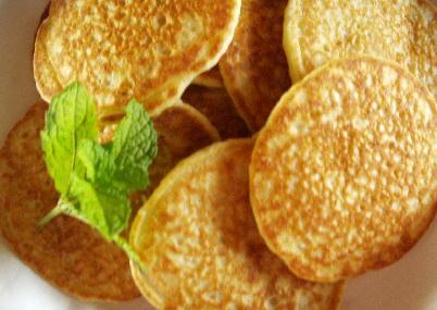 ジャガイモのパンケーキ