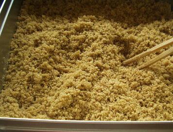 米ぬかで肥料