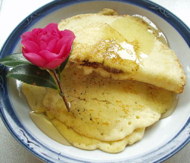 米粉でパンケーキ