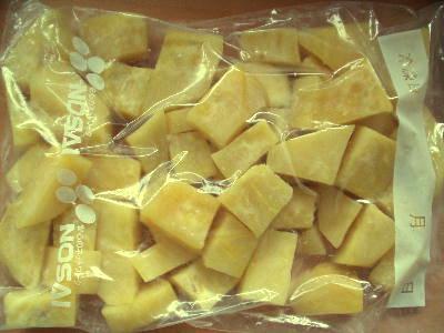 さつま芋の冷凍.
