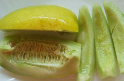 バナナマクワ切
