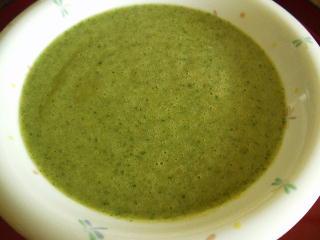 モロヘイヤポタージュスープ