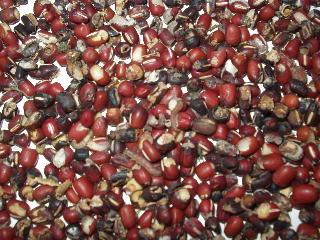 虫食い小豆