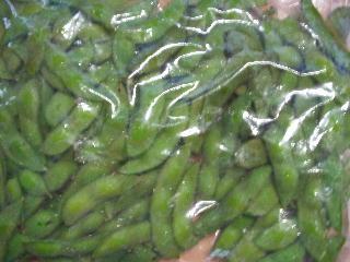 枝豆の冷凍