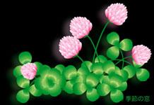 「季節の窓」より素材clover008
