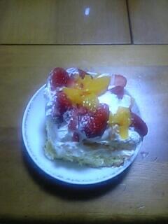 初めてのケーキ作り