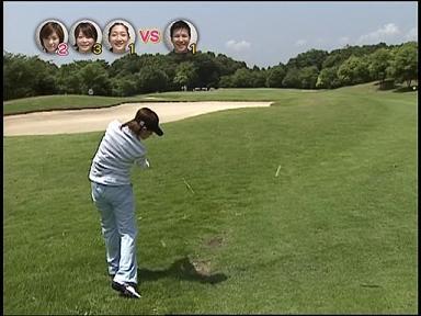 あやや 07.08.22. あややゴルフ2 まっすぐキレイに飛ぶ♪