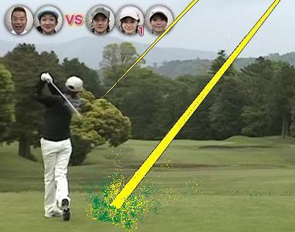 あやや ナイスショット 07.07.25 あややゴルフ2