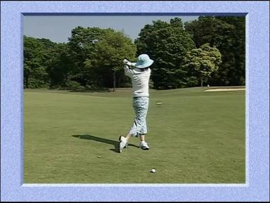 あやや スイング 07.07.04. あややゴルフ2
