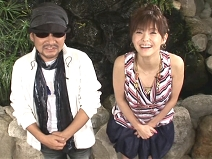 松浦亜弥さんブログ 20080422 コラボ☆ラボ CHAGE&あやや4.jpg