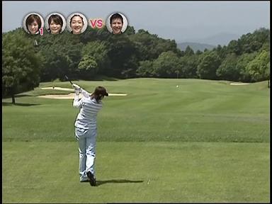 あやや 07.08.22. あややゴルフ2 真っ直ぐ飛ぶ♪
