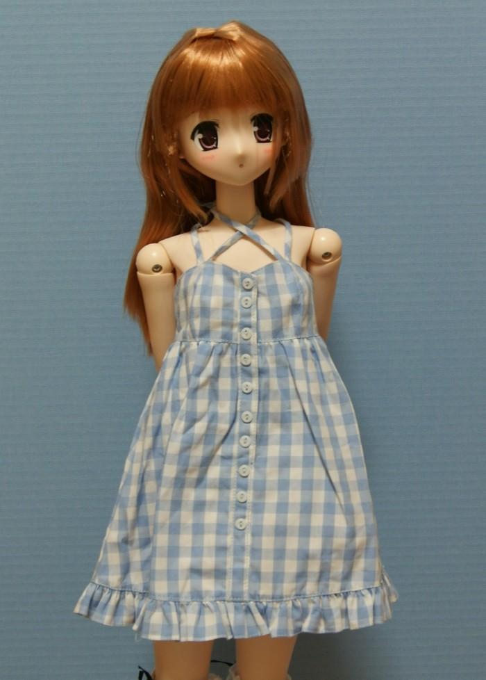 9月入ったので陽菜ちゃん衣装チェンジであります 今回は9月とはいえ気候は... 60cmクロスキ