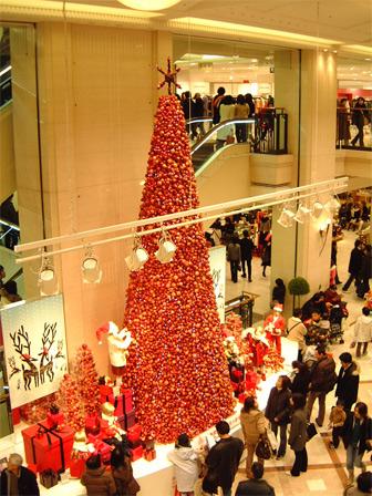 大丸クリスマス