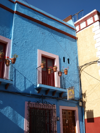 Guanajuato Blue House