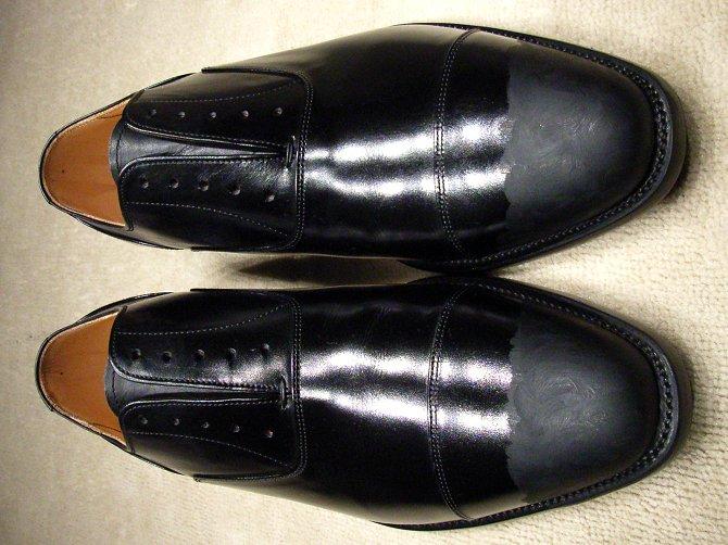 靴磨き教室 | ピカピカ靴磨き ...