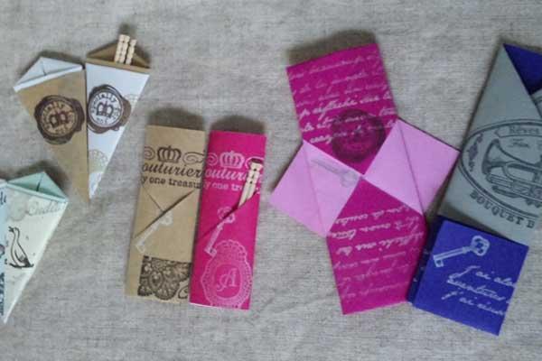 すべての折り紙 写真入れ 折り紙 : 折り紙】【無料レシピ】箸袋 ...