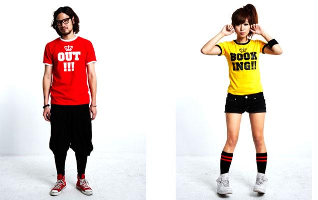 台湾ブランド BLACK FEVER 2010 春/夏 ロイヤルサッカーユニフォーム