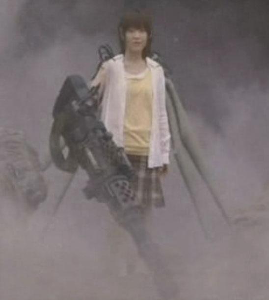 最終兵器彼女  サイボーグ メカ少女 メカ娘