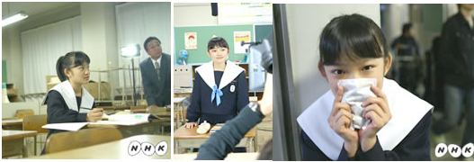 中学生日記 名古屋襟 セーラー服 女子中学生