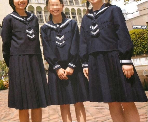 セーラー服 白百合学園ガイド 女子中高生